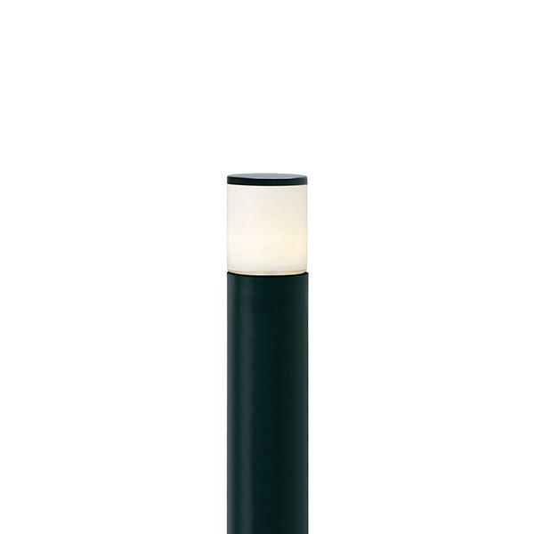 タカショー シンプルLEDポールライト7型(LED色:電球色) HFD-L06BA 4W 100V用 『エクステリア照明 ライト』 ブラック