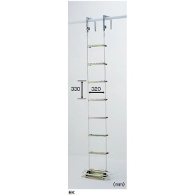 ピカコーポレイション 避難用ロープはしご EK-6