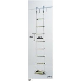 【一部予約販売】 避難用ロープはしご EK-17:エクステリアのプロショップ キロ ピカコーポレイション-DIY・工具