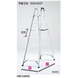 送料無料【ピカコーポレイション】現場の作業を支え続けるピカのアイテムです ピカコーポレイション 専用脚立 HM-C210