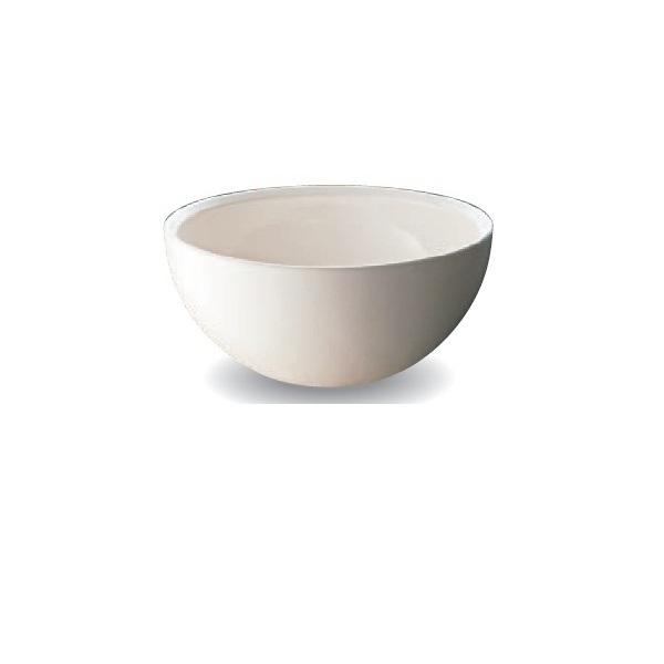 オンリーワン 信楽焼手洗い鉢Φ300 MZ4-1015WB  艶白