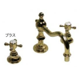 送料無料【オンリーワン】 オンリーワン デザイン水栓 スパニッシュ・キャッスルCC AE4-MA423PB  ブラス