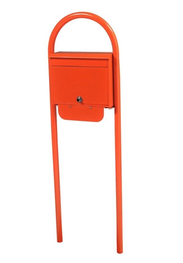 KGY セレクトカラーポストSG-5000 + アーチスタンドセットAS-1 『ケイ・ジー・ワイ 郵便ポスト』 オレンジ
