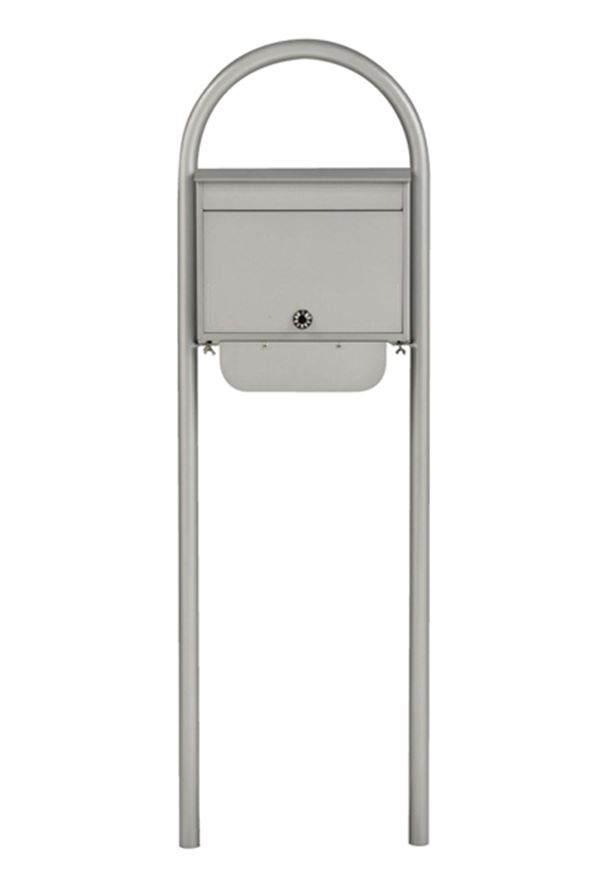 KGY セレクトカラーポストSG-5000 + アーチスタンドセットAS-1 『ケイ・ジー・ワイ 郵便ポスト』 シルバー
