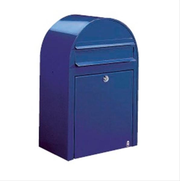 BOBI ポスト(前入れ前出し) 『郵便ポスト』 ネイビーブルー