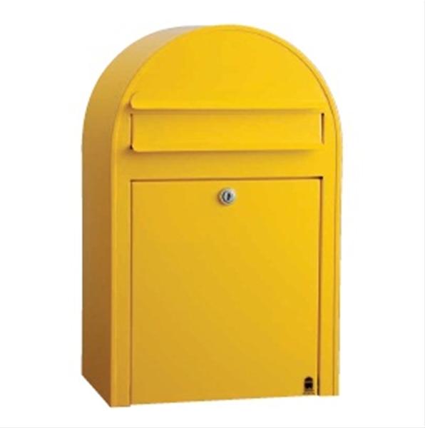BOBIPASTEL ポスト(前入れ前出し) 『郵便ポスト』 メロンイエロー
