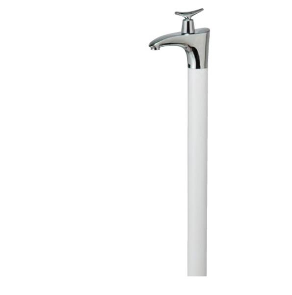 オンリーワン 水栓柱ドラーゴ(1200) HV3-G12DW 『水栓柱・立水栓セット(蛇口付き)』 ホワイト