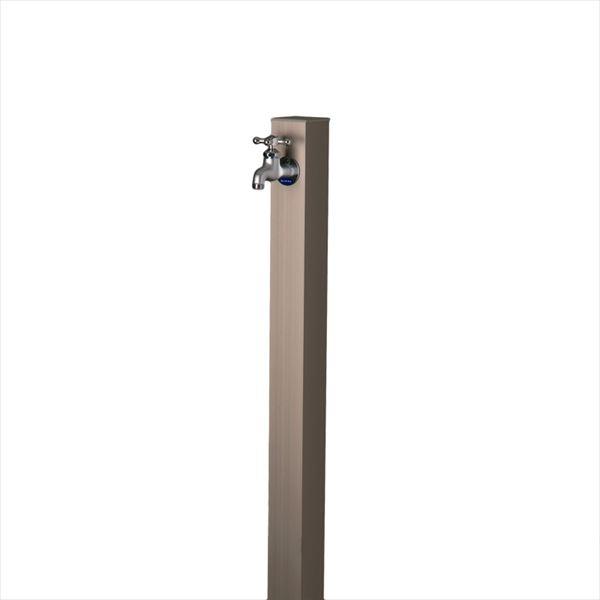 オンリーワン アルミ立水栓 Lite 蛇口セット GM3-ALUCF 『水栓柱・立水栓セット(蛇口付き)』 メタリックグレー