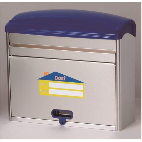 メイワ カラフルポスト MYS-770 『郵便ポスト』 ブルー