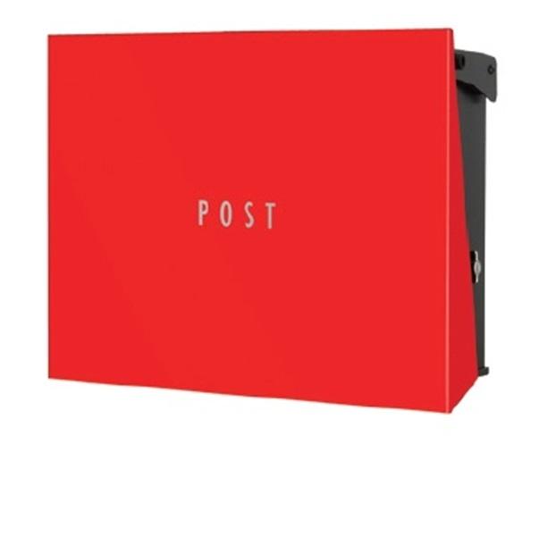 オンリーワン パーサスNEO PLAIN(壁掛タイプ) NA1-PT12RE 『郵便ポスト』 レッド