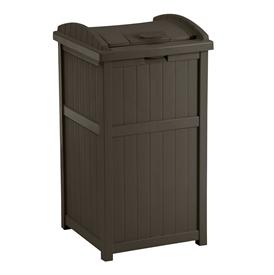 【個人宅配送不可】 SUNCAST ウッディーダストボックス GH1732J 『ゴミ収集庫』 ブラウン