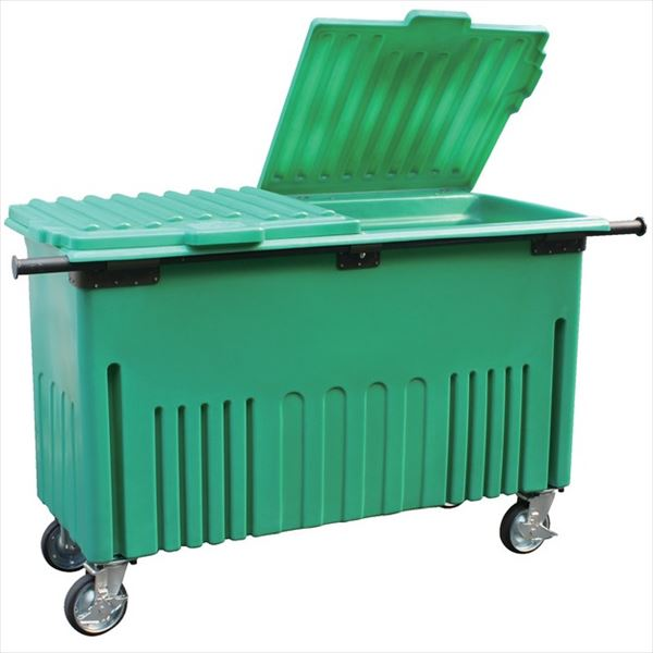 サンコー サンクリーンボックス アウトバータイプ  SCB500-2RY(前開き)  内容量500L