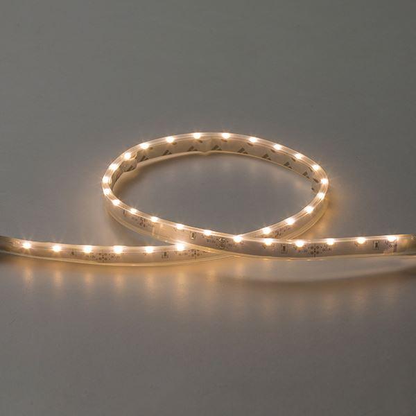 タカショー フレキシブルLEDバー サイドビュー600(LED色:電球色)連結用 HAC-D07T 12V用 #73016200 『ローボルトライト』 『エクステリア照明 ライト』