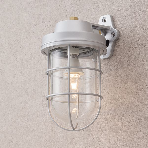 タカショー シンプルLEDマリンライト ブラケットタイプ HFC-D02S 100V用 #72285300 『エクステリア照明 ライト』 パールシルバー