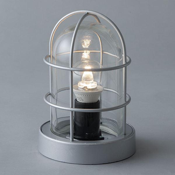 タカショー シンプルLEDマリンライト デッキタイプ HFC-D01S 100V用 #72282200 『エクステリア照明 ライト』 パールシルバー