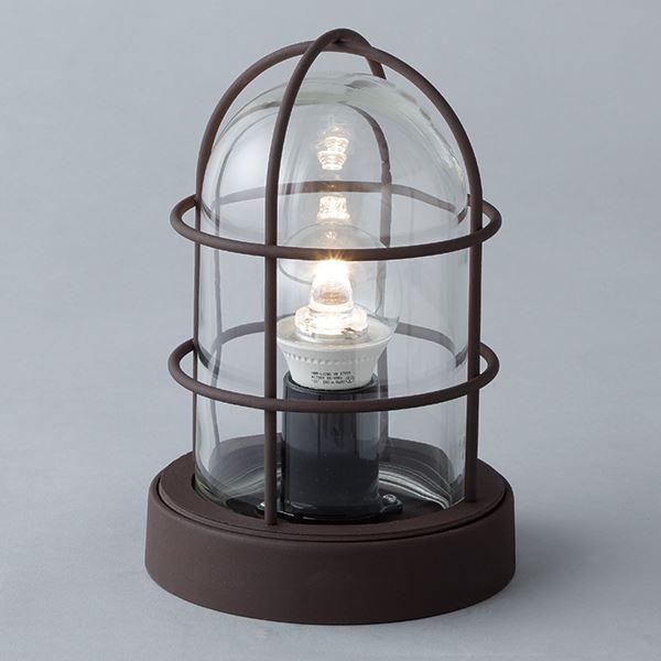 タカショー 記念日 シンプルLEDマリンライト デッキタイプ HFC-D01B 100V用 ライト エクステリア照明 セピアブラウン 超美品再入荷品質至上 #72281500