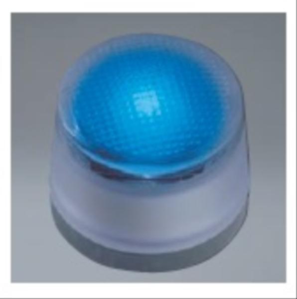 ユニソン ヘリオスグランドライト LEDグラス φ60 『エクステリア照明 ライト』 LED色:青色