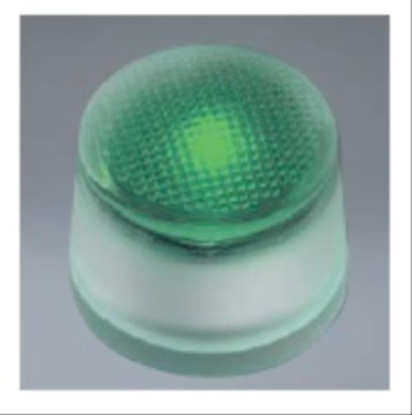 ユニソン ヘリオスグランドライト LEDグラス φ60 『エクステリア照明 ライト』 LED色:緑色