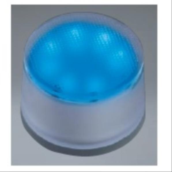 ユニソン ヘリオスグランドライト LEDグラス φ90 『エクステリア照明 ライト』 LED色:青色