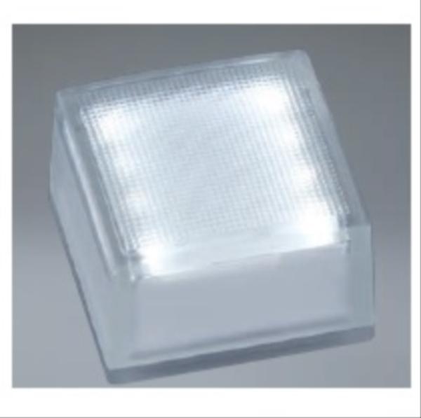 ユニソン ヘリオスグランドライト LEDグラス 100角 『エクステリア照明 ライト』 LED色:白色