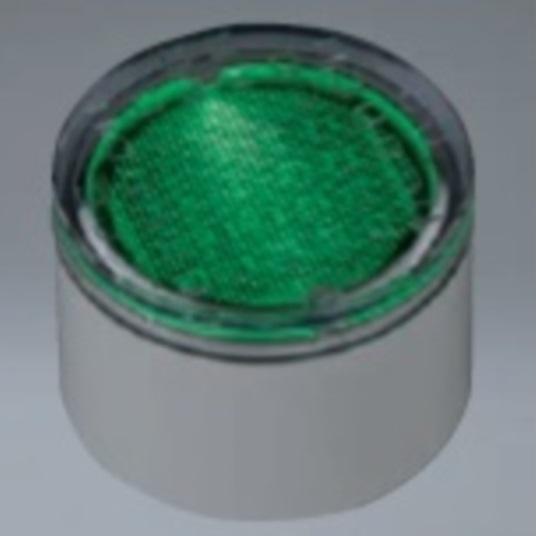 ユニソン ヘリオスグランドライト LEDブロック φ85 『エクステリア照明 ライト』 LED色:緑色