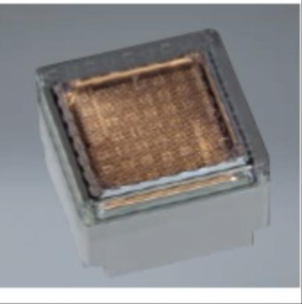 ユニソン ヘリオスグランドライト LEDブロック 100角 『エクステリア照明 ライト』 LED色:電球色