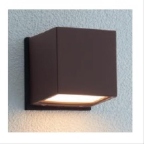 ユニソン ポージィウォールライト UA 01021 52 LED色:電球色 『エクステリア照明 ライト』 ラスティブラウン