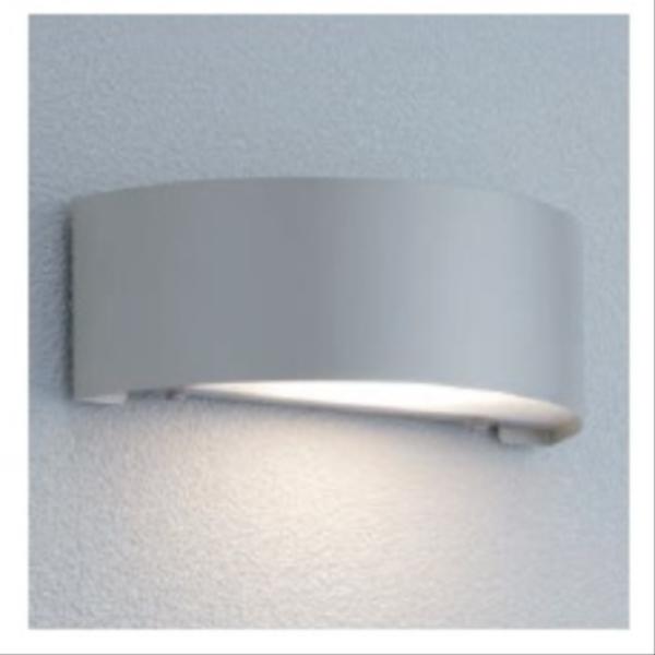 ユニソン ポージィウォールライト UA 01002 12 LED色:電球色 『エクステリア照明 ライト』 シルバー