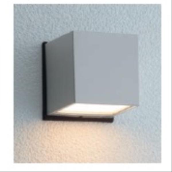 ユニソン エコルトウォールライト EA 01017 12 12V用 LED色:電球色 『エクステリア照明 ローボルトライト』 シルバー