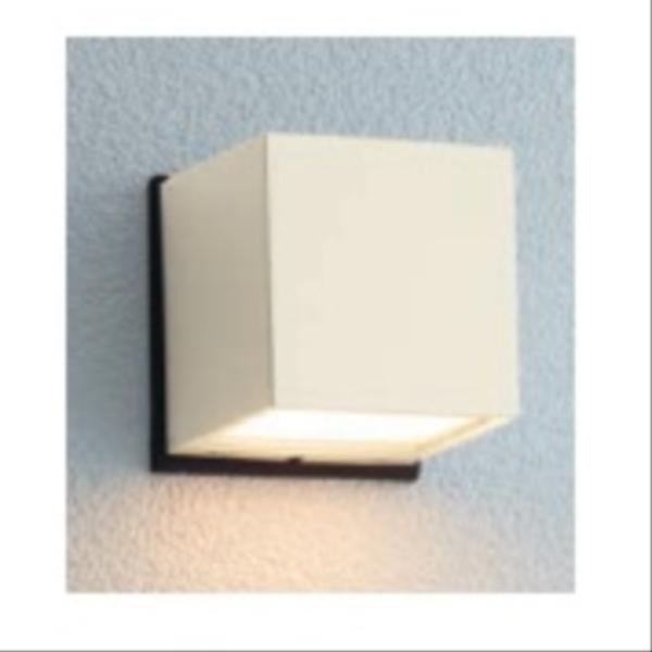 ユニソン エコルトウォールライト EA 01017 42 12V用 LED色:電球色 『エクステリア照明 ローボルトライト』 オフホワイト