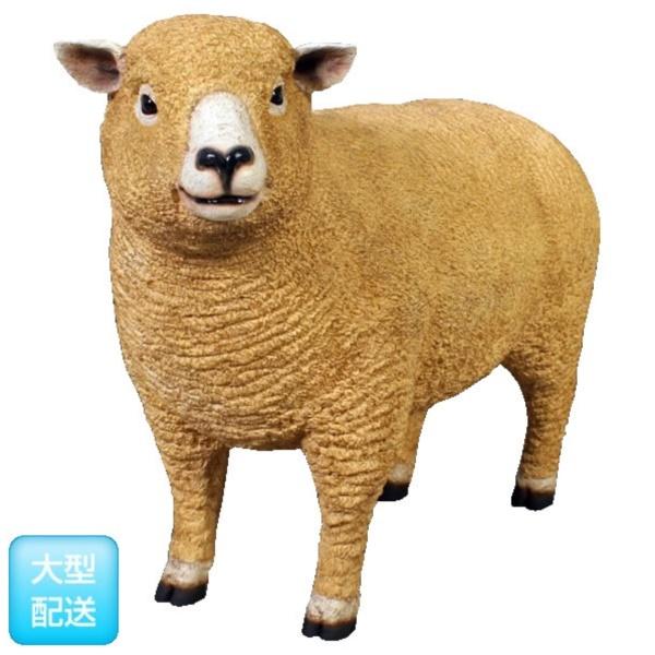 FRP ライ麦畑の子羊 / Ryeland Ewe 『動物園オブジェ アニマルオブジェ 店舗・イベント向け』
