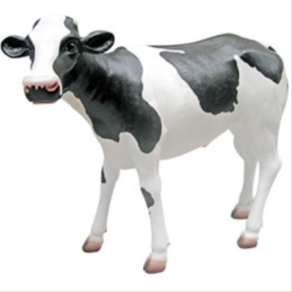 FRP 子供の乳牛 / Calf Life Size 『動物園オブジェ アニマルオブジェ 店舗・イベント向け』