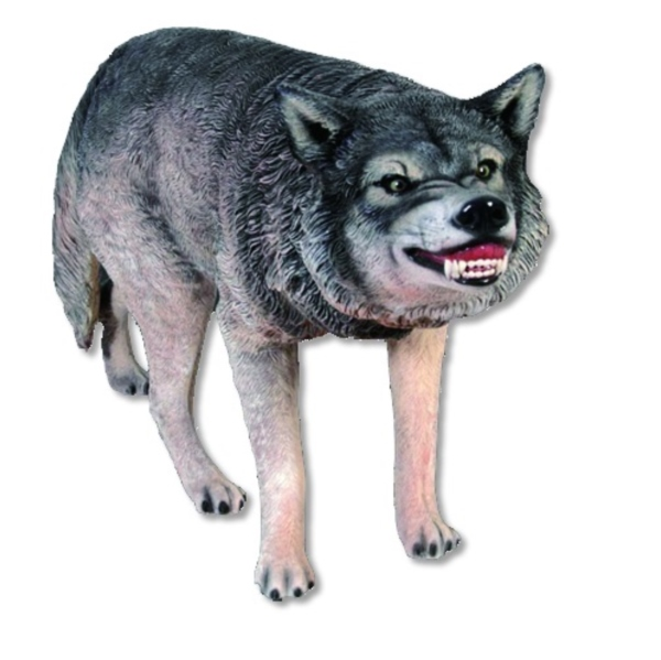 FRP オオカミ / Wolf 『動物園オブジェ アニマルオブジェ 店舗・イベント向け』