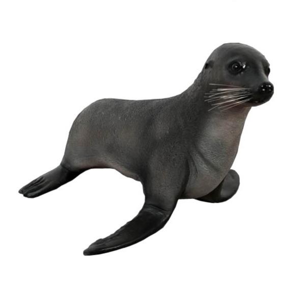 FRP オットセイの赤ちゃん / BaBy Fur Seal 『水族館オブジェ アニマルオブジェ 店舗・イベント向け』