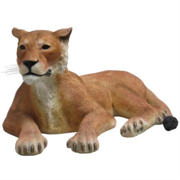FRP ライオネス・ポーズ / Lioness Lying Down 『動物園オブジェ アニマルオブジェ 店舗・イベント向け』