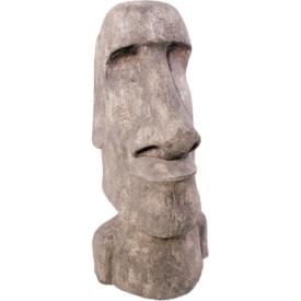 FRP イースター島のモアイ像 ストーン風 / Easter Island Moai 『歴史オブジェ 店舗・ホテル向け』