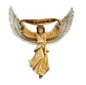 FRP キリスト降誕 - 天使(カラー仕上げ) / The Nativity-Angel 『クリスマスオブジェ 店舗・イベント向け』