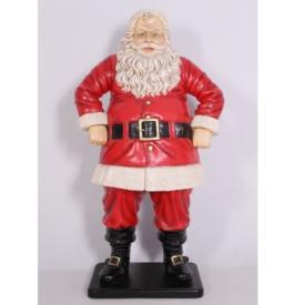 FRP 陽気なサンタ 126cm / Jolly Santa 126cm 『クリスマスオブジェ 店舗・イベント向け』