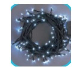 コロナ産業 LEDストレートコード200球(ブラックコード)/連結専用/電源部別売り LNR200W LED色:白色 『イルミネーションライト』