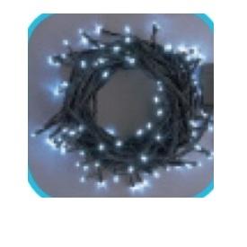 コロナ産業 LEDストレートコード200球(ブラックコード)/連結専用/電源部別売り LPR200W LED色:白色 『イルミネーションライト』
