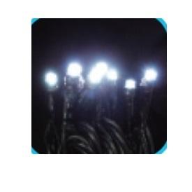 コロナ産業 LEDストレートコードスリムライト100球/電源部別売り(シルバーコード) HC100W LED色:白色 『イルミネーションライト』
