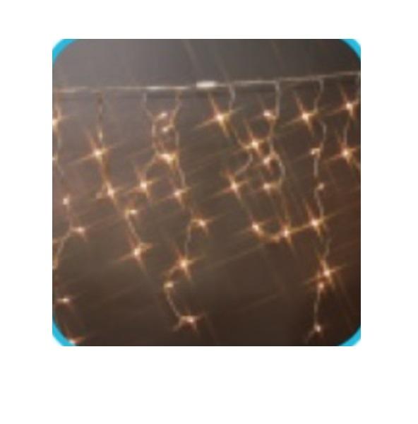 コロナ産業 LEDアイスつららライト120球ライト連結専用/電源部別売り(シルバーコード) LNR120SD LED色:電球色 『イルミネーションライト』