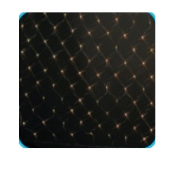 コロナ産業 LED180球ネットライト コントローラー点滅(ブラックコード) LP180CGD LED色:ハニーゴールド色 『イルミネーションライト』