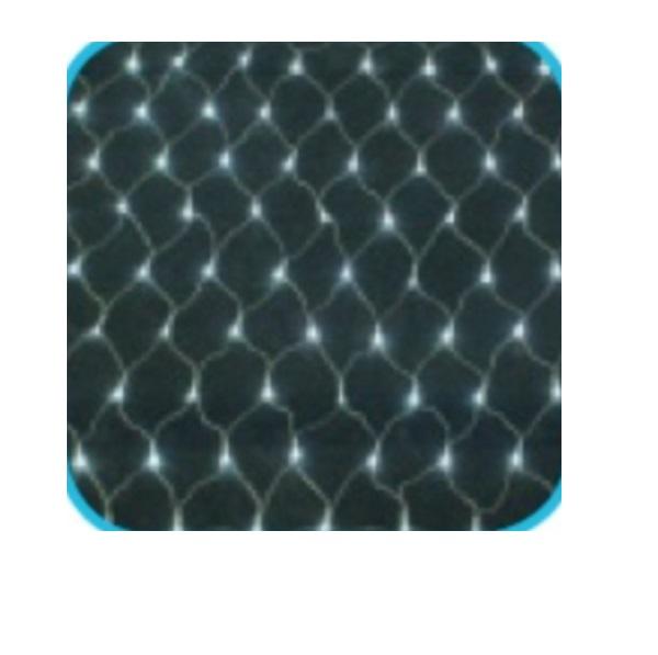 コロナ産業 LED180球ネットライト連結専用/電源部別売り(シルバーコード) LCR180W LED色:白色 『イルミネーションライト』