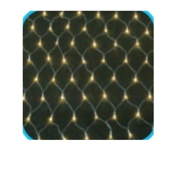 コロナ産業 LED180球ネットライト連結専用/電源部別売り(シルバーコード) LCR180D LED色:電球色 『イルミネーションライト』