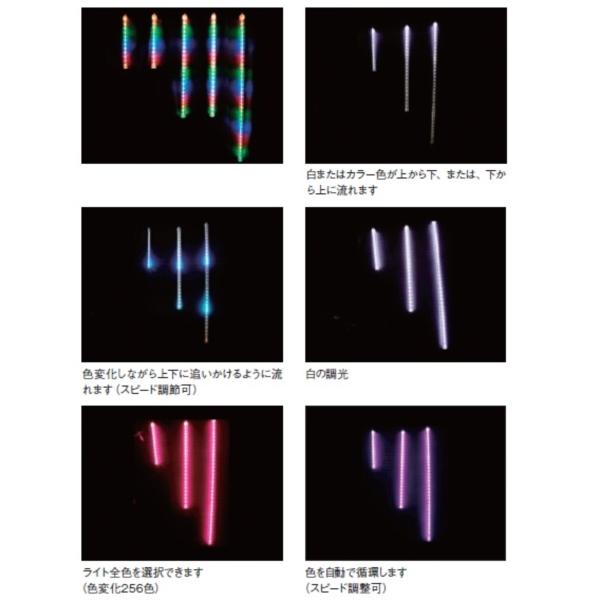 コロナ産業 RGBドロップライト/90cm 1本(電源部別売り) DL90RGB LED色:RGB 『イルミネーションライト』