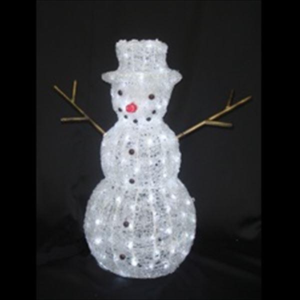 コロナ産業 3D LEDアクリルスノーマン L3D140 『イルミネーションライト』