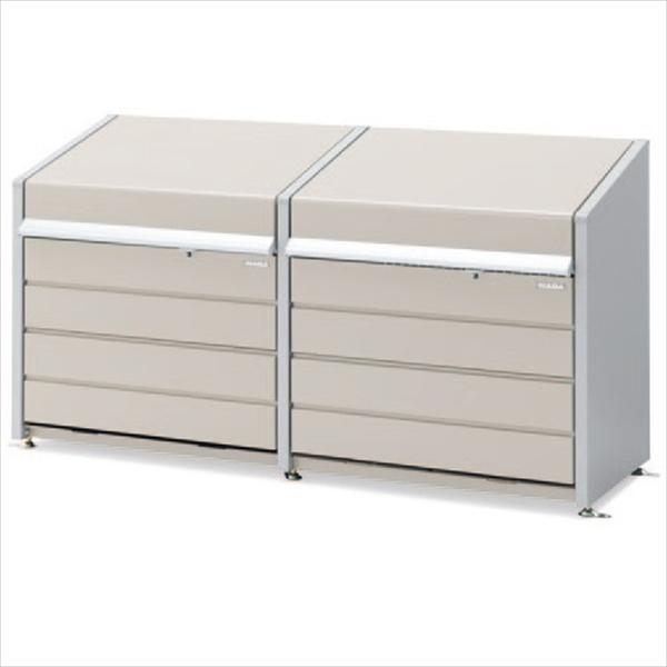 イナバ物置 ダストボックス・ミニ DBN-126ML-2 『ゴミ袋(45L)集積目安 22袋、世帯数目安 11世帯』 『ダストボックス ゴミステーション 屋外』