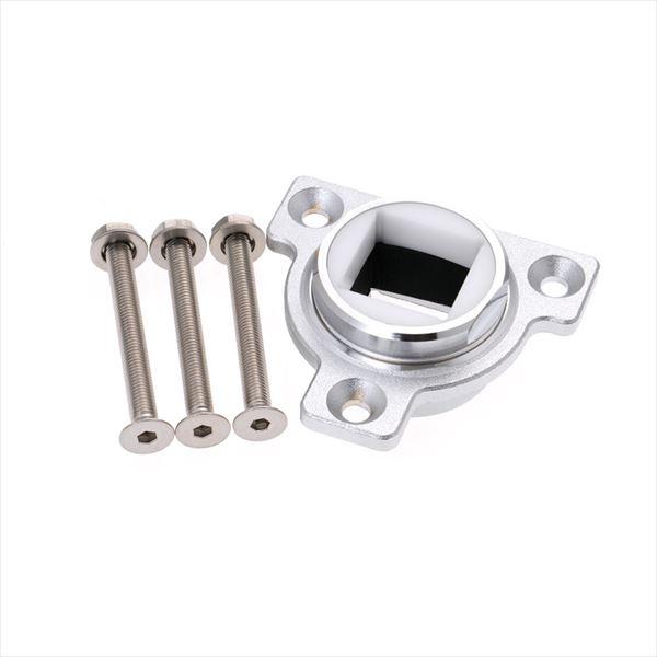 オンリーワン アクアルージュ オプション ウッドデッキ用金具 □40用 TK3-SFQPA 『水栓柱・立水栓 オプション』