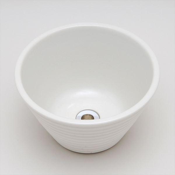 オンリーワン アクアルージュ/ジラーレ オプション 水鉢 ガーデンポット TK3-E-DBW 千段ホワイト